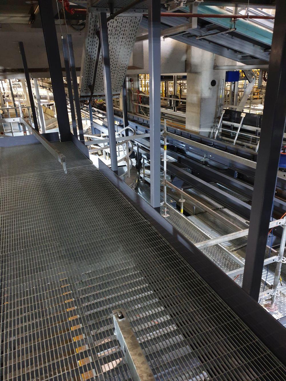 UPS Cologne-Bonn - Parcel sorter 04 to 08